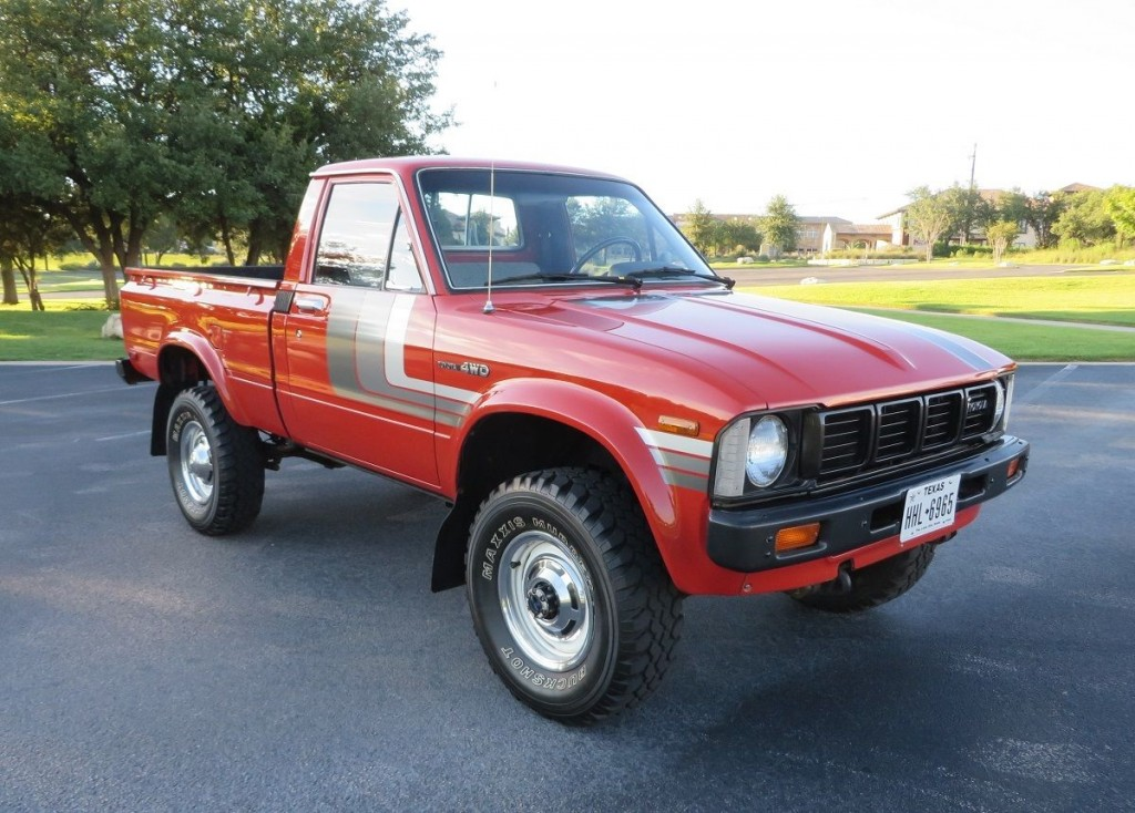 1980 toyota 4 4 pickup hilux for sale. Black Bedroom Furniture Sets. Home Design Ideas