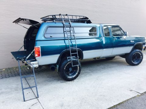 Full frame off restoration – 1993 Dodge Cummins 4×4 W250 for sale