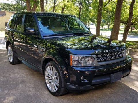 Absolutely stunning 2010 Land Rover Range Rover Sport HSE LUX offroad for sale