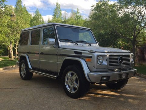 Luxury 2004 Mercedes Benz G Class Base Sport Utility offroad for sale
