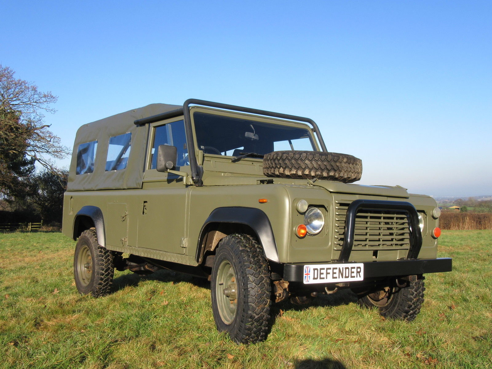 Used Land Rovers For Sale >> Military vehicle 1985 Land Rover Defender Exmoor offroad ...