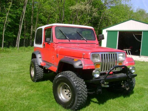 Original condition 1989 Jeep Wrangler offroad 4×4 for sale