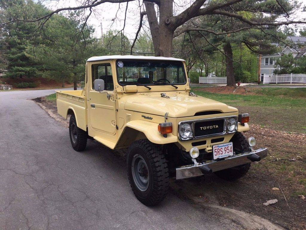 Restored 1981 Toyota Land Cruiser Pc11 Offroad For Sale 1973 Original