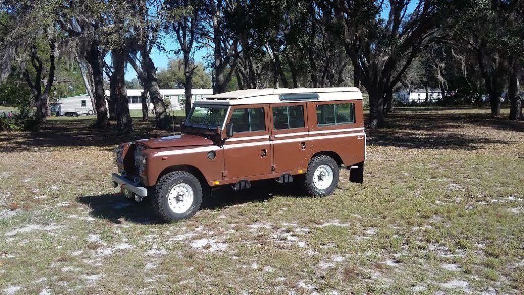 Unmolested 1982 Land Rover Defender Offroad For Sale