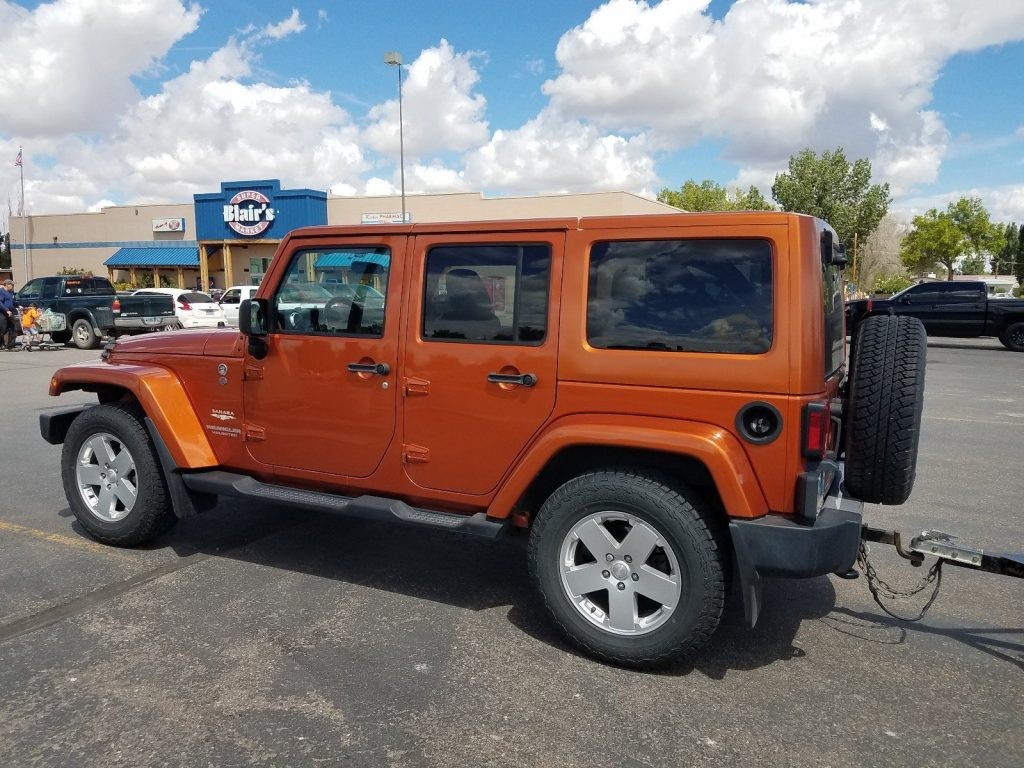 Couple upgrades 2011 Jeep Wrangler Sahara offroad