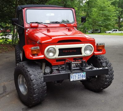 Factory PTO 1975 Toyota Land Cruiser FJ40 offroad for sale