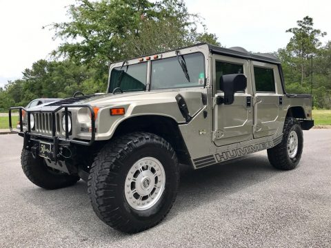 Low mileage 2002 Hummer H1 offroad for sale