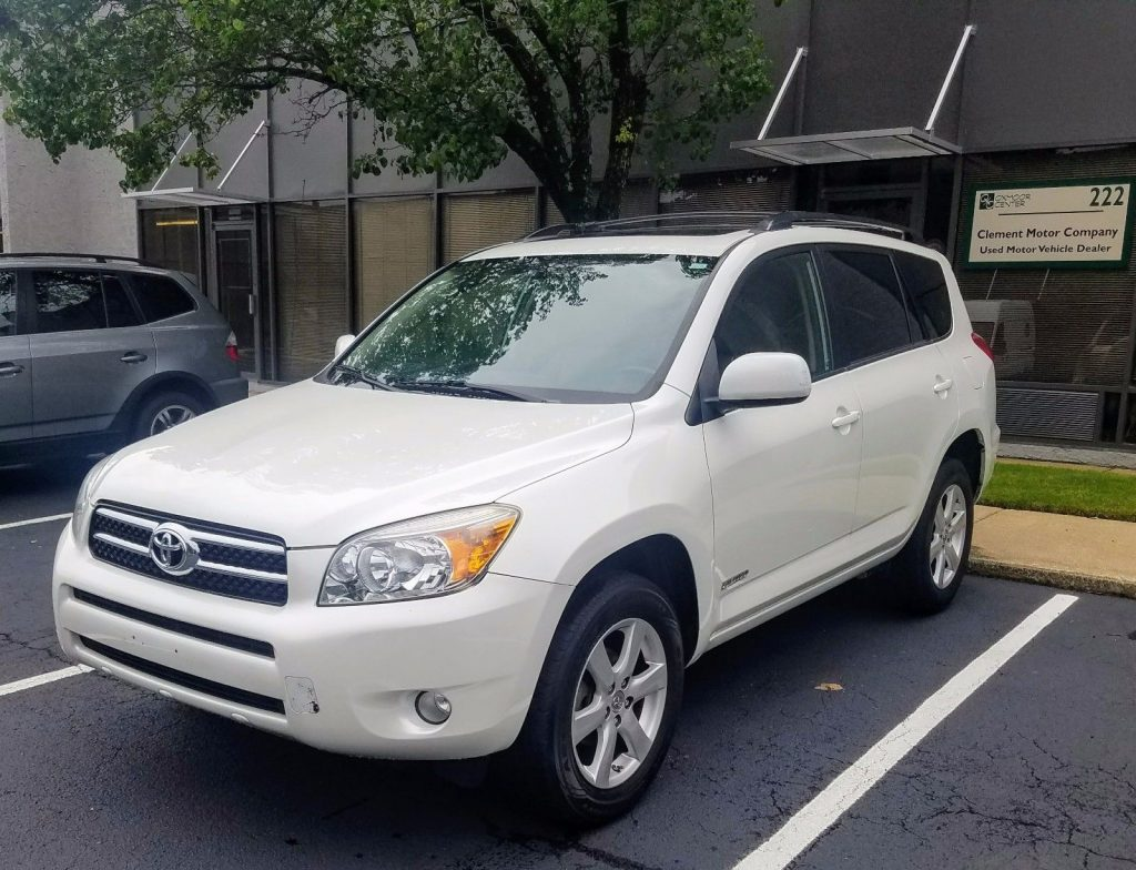 Mint Condition 2007 Toyota Rav4 Limited Offroad For Sale