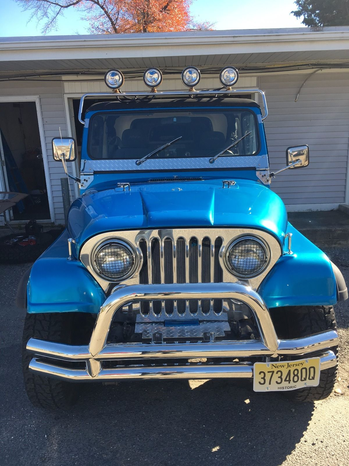 New Parts 1983 Jeep Cj Offroad For Sale
