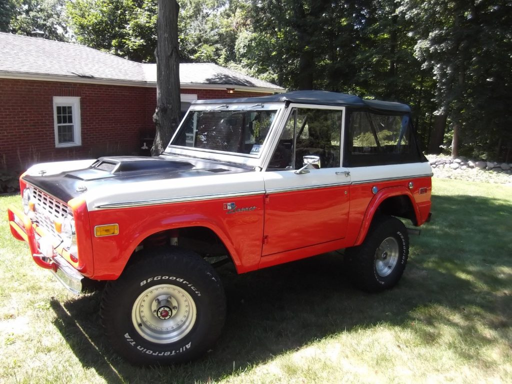 Rare softtop 1973 Ford Bronco Stroppe offroad