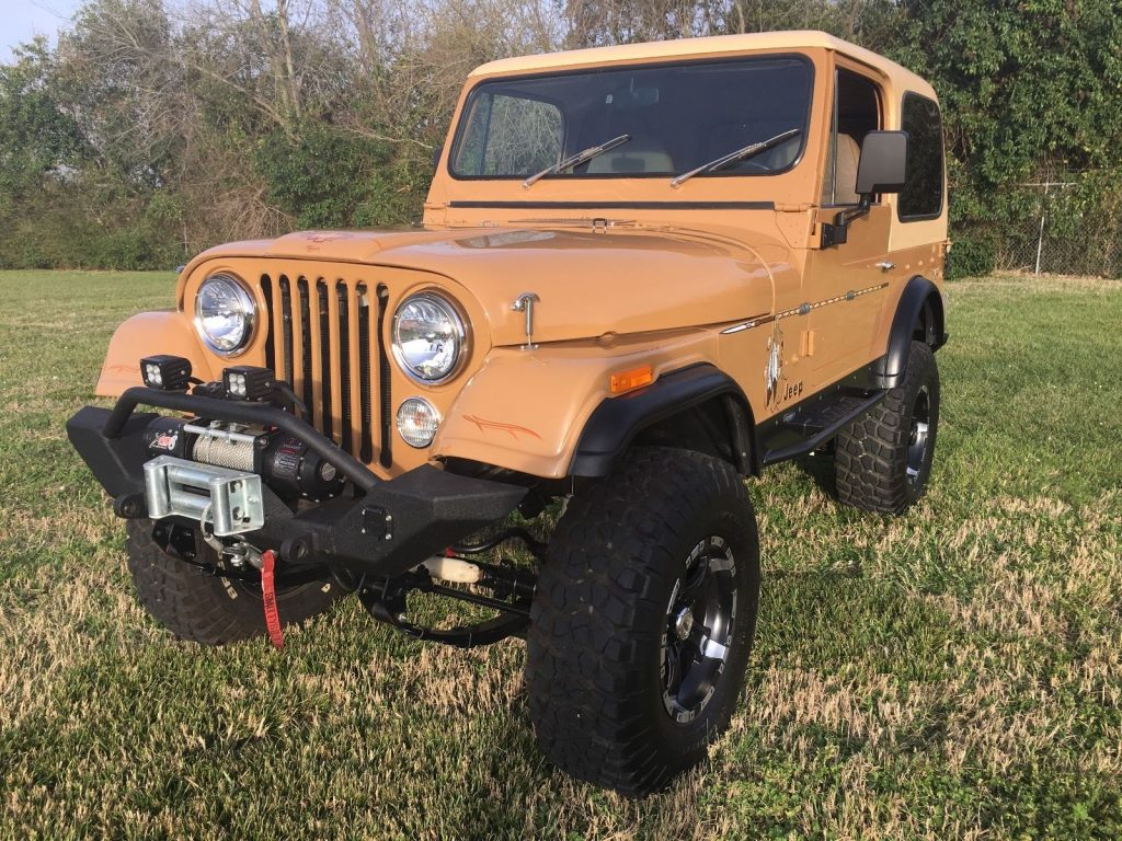 Restored 1978 Jeep CJ CJ7 offroad for sale