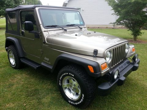 Super clean 2003 Jeep Wrangler Sport offroad for sale