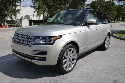 Supercharged  2013 Land Rover Range Rover offroad for sale