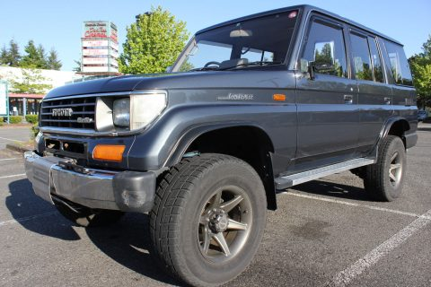 Turbo diesel 1992 Toyota Land Cruiser offroad for sale