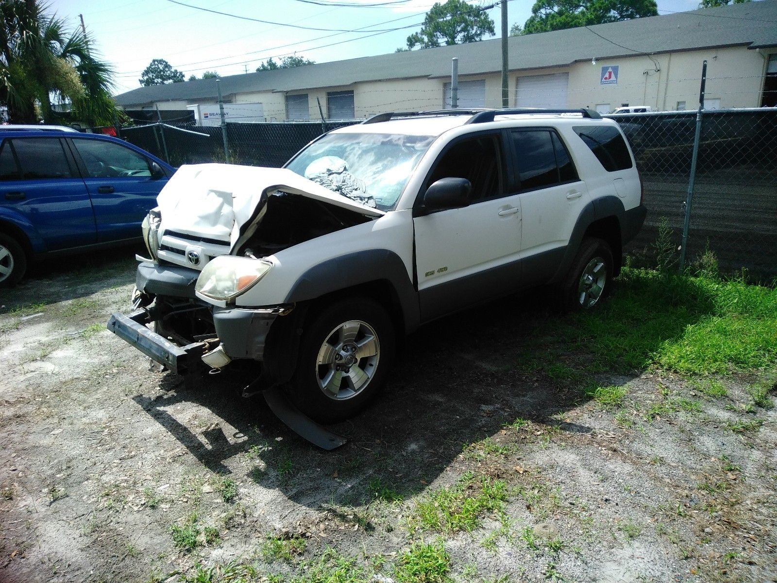 2017 Toyota 4runner >> Damaged 2003 Toyota 4Runner offroad frame is OK for sale