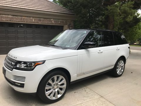 Loaded 2015 Land Rover Range Rover HSE offroad for sale