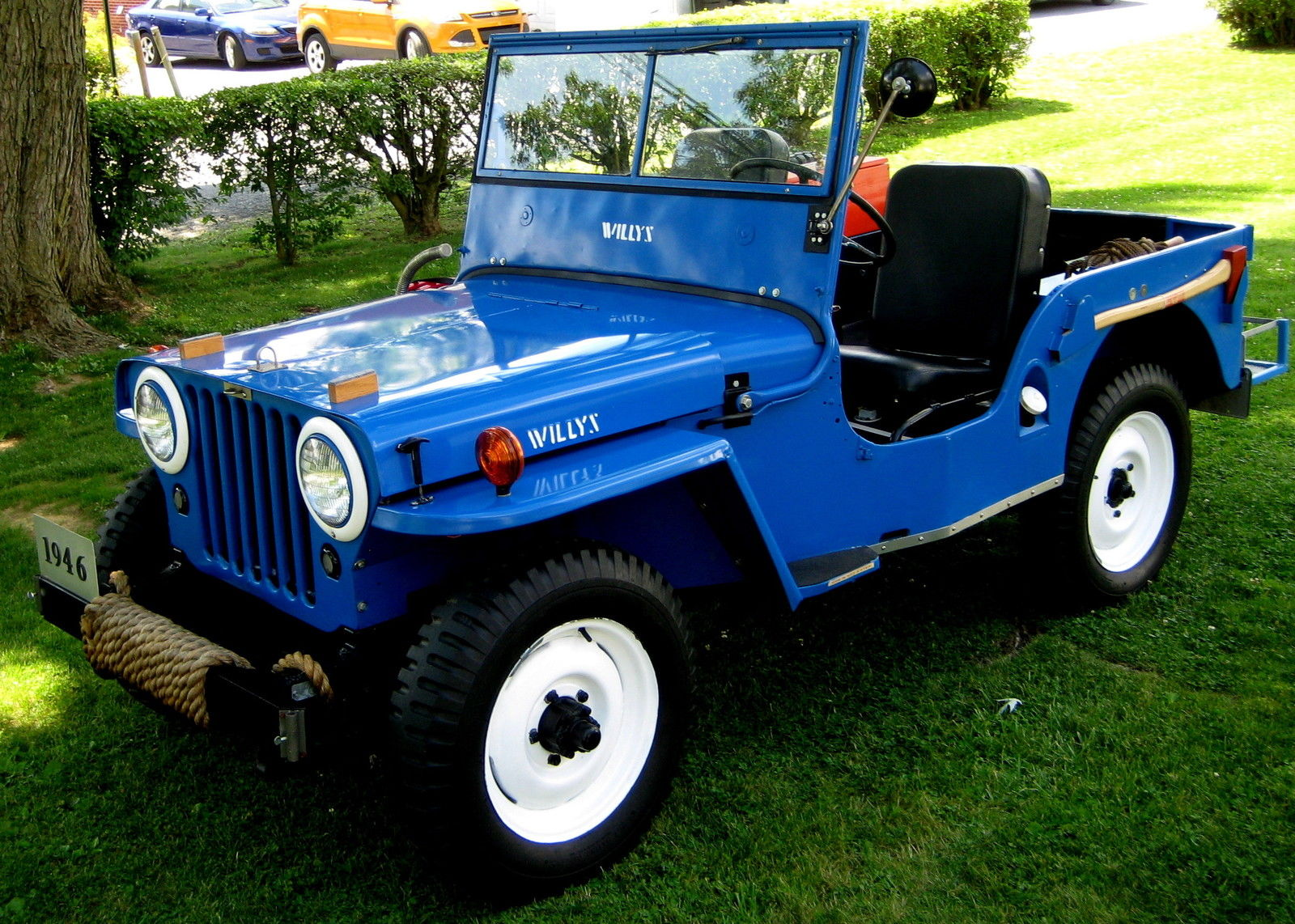 Original 1946 Willys CJ2 Jeep offroad for sale