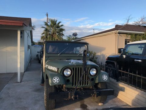 Original drivetrain 1953 Willys M38A1 offroad for sale