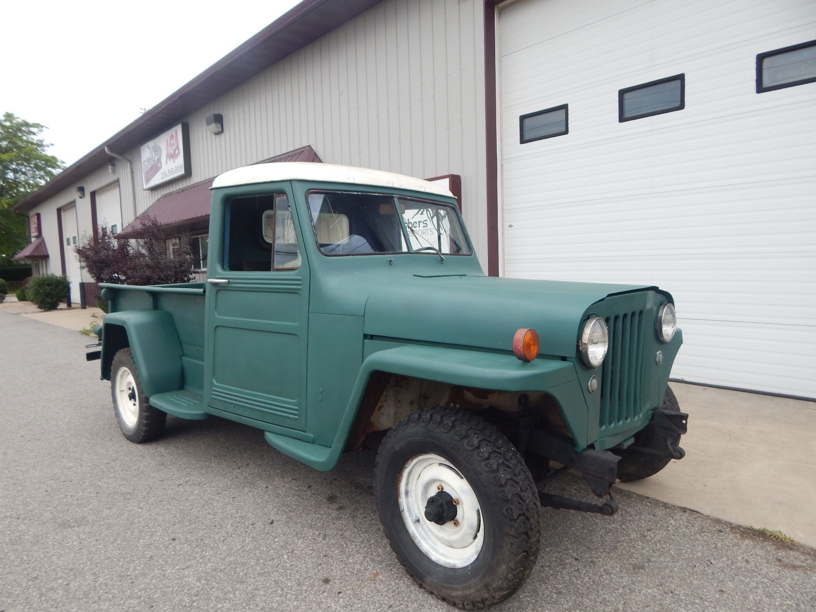 rare 3 on the tree 1948 willys truck offroad for sale