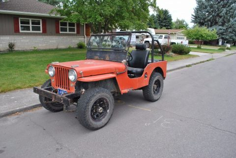 Runs good 1948 Jeep CJ2A offroad for sale