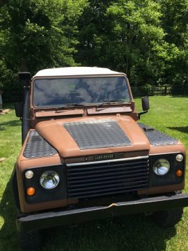 Soft top conversion 1985 Land Rover Defender offroad for sale