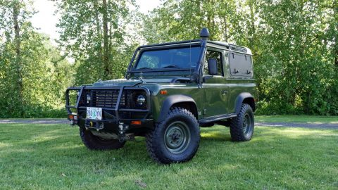 Some imperfections 1995 Land Rover Defender NAS D90 offroad for sale