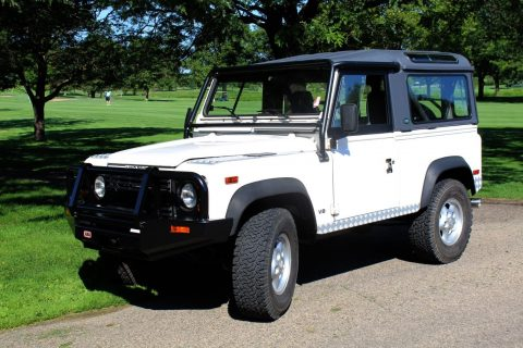 just serviced 1997 Land Rover Defender offroad for sale