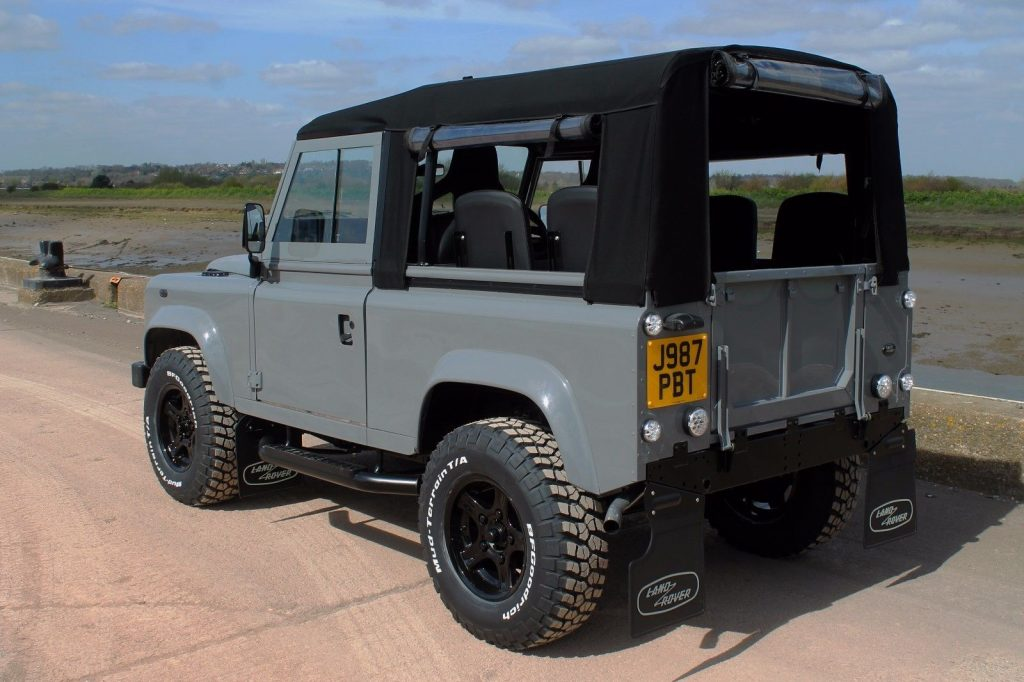 Leather Interior 1992 Land Rover Defender Offroad For Sale