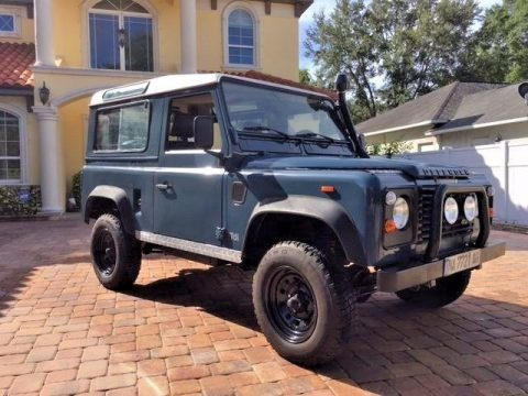 left hand drive 1992 Land Rover Defender offroad for sale