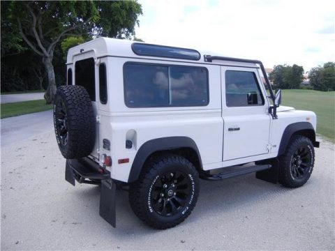 loaded 1997 Land Rover Defender offroad for sale