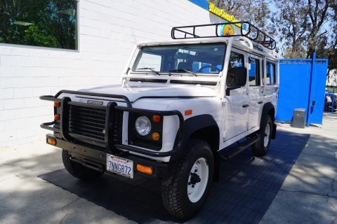 mint 1993 Land Rover Defender 110 offroad for sale