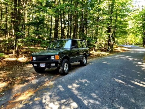 restored 1993 Land Rover Range Rover Classic offroad for sale