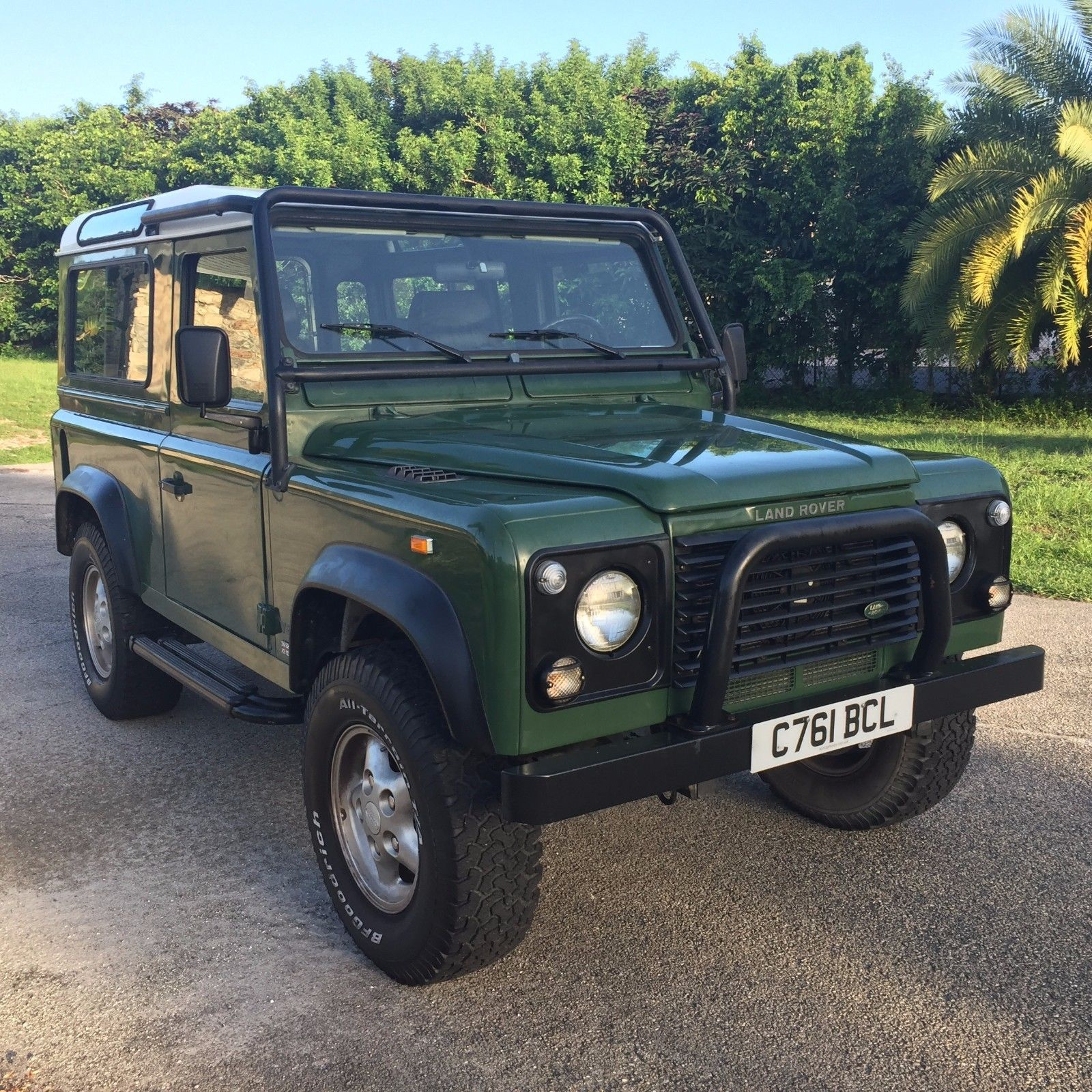 Solid 1997 Land Rover Defender Offroad For Sale