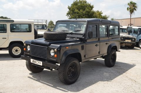upgraded 1992 Land Rover Defender County Station Wagon offroad for sale