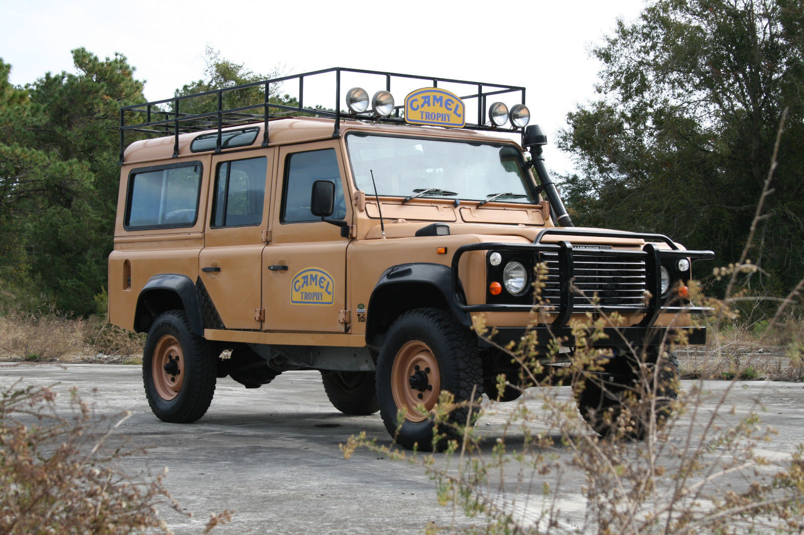 Camel Trophy Replica 1987 Land Rover Defender Offroad For Sale