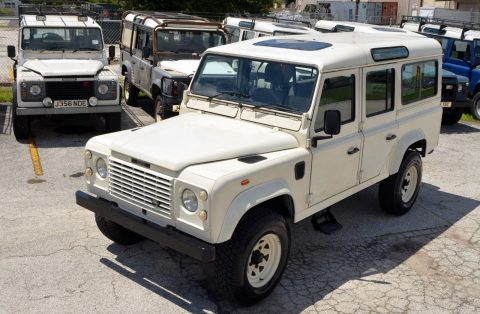 exceptional condition 1990 Land Rover Defender County Station Wagon offroad for sale