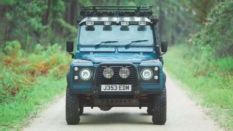 exceptionally clean 1991 Land Rover Defender offroad for sale
