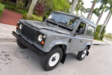 fully optioned 1987 Land Rover Defender 90 offroad for sale