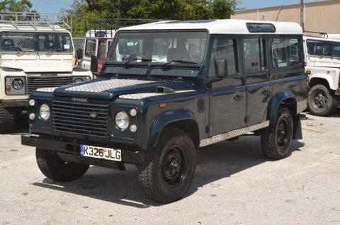 great looking 1992 Land Rover Defender County Station Wagon offroad for sale