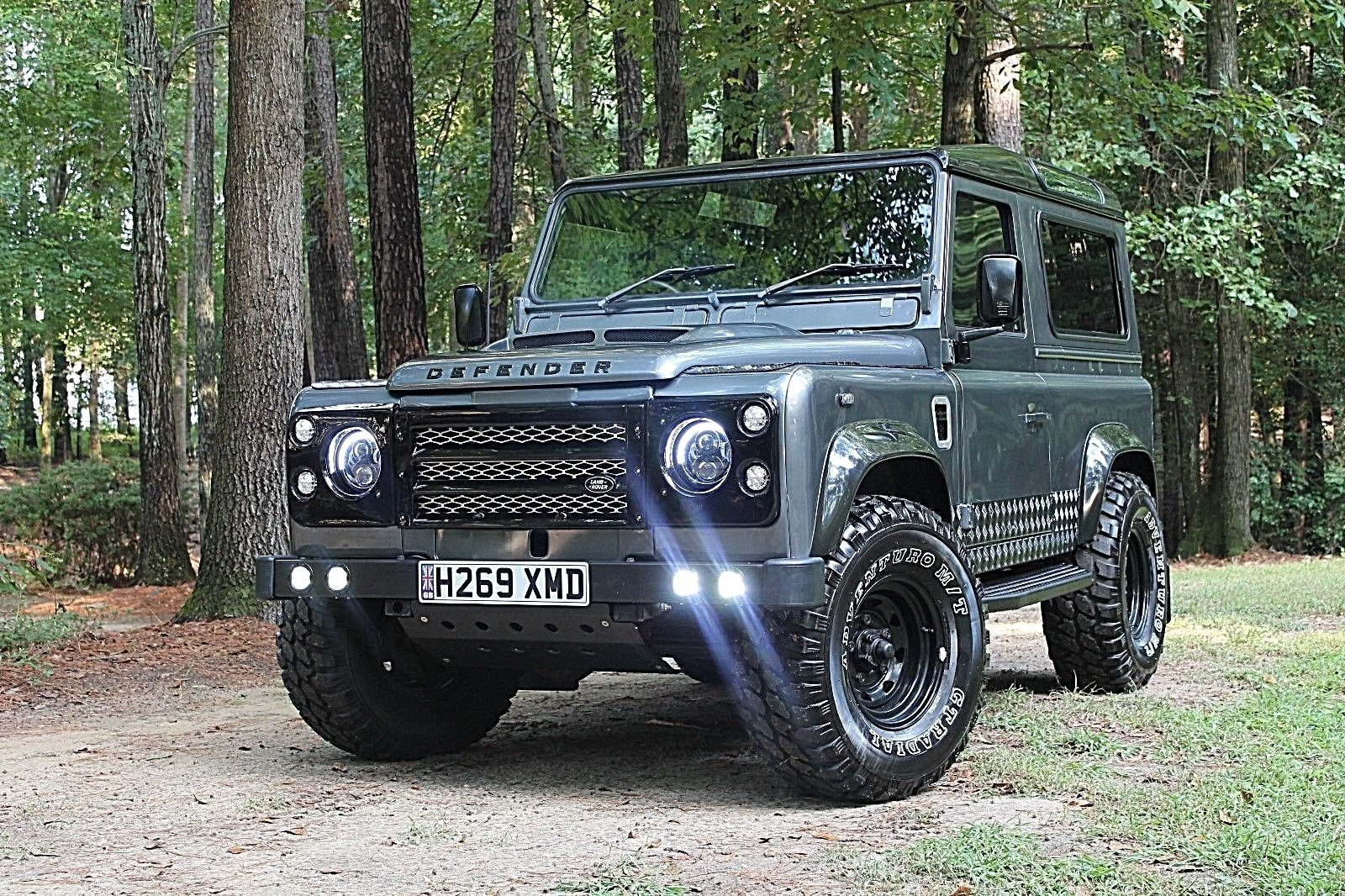Iconic 1990 Land Rover Defender Offroad For Sale