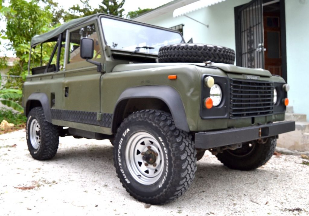 Straight Truck For Sale >> military 1986 Land Rover Defender offroad for sale