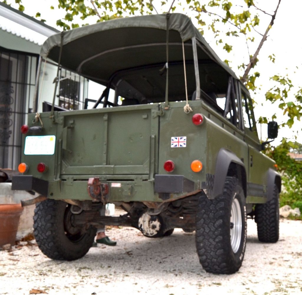 Military 1986 Land Rover Defender Offroad For Sale
