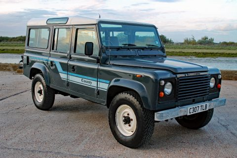 Orginal 1985 Land Rover Defender offroad for sale