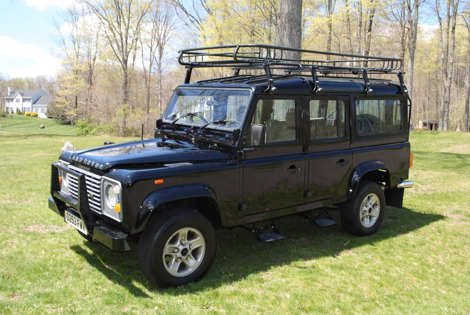rebuilt engine 1987 land rover defender county offroad for