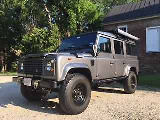 restored 1991 Land Rover Defender offroad for sale