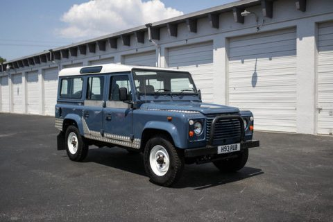 serviced 1990 Land Rover Defender County Station Wagon offroad for sale