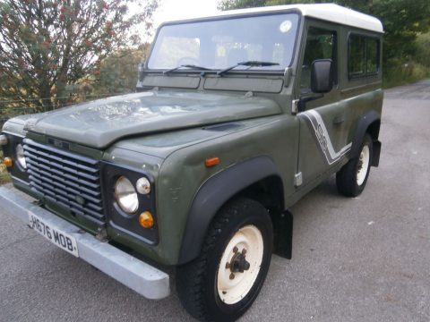 strong 1991 Land Rover Defender 90 offroad for sale