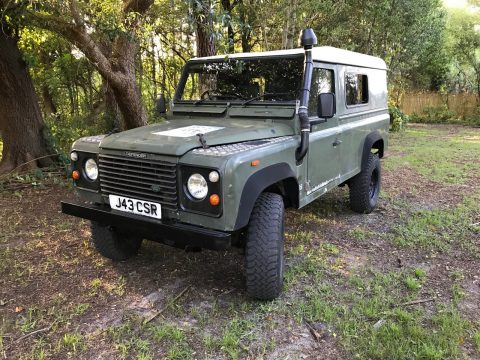 well maintained 1991 Land Rover Defender offroad for sale
