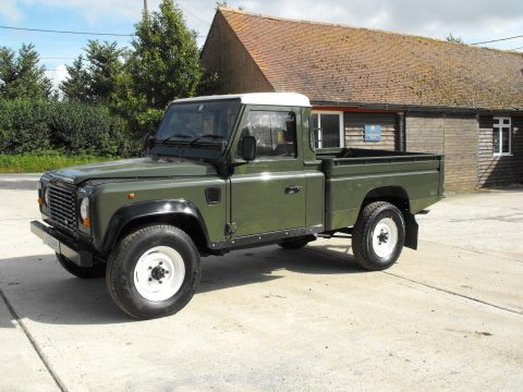 all original 1980 Land Rover Defender Hi Cap offroad for sale
