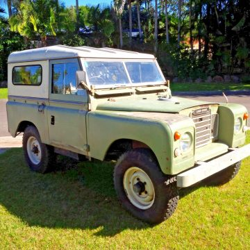 completely original 1973 Land Rover Series 3 SWB offroad for sale
